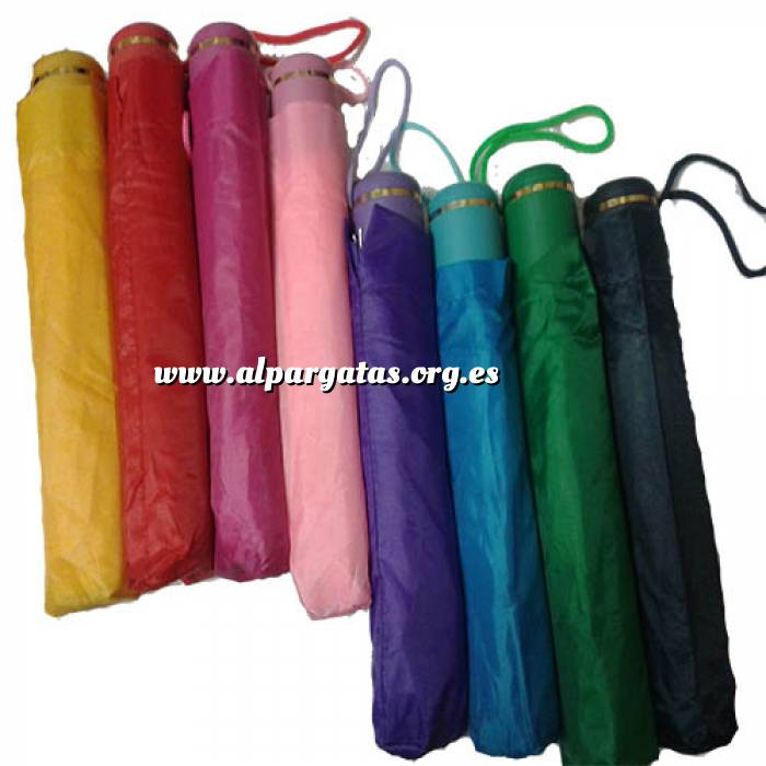 Imagen Prácticos mujer Paraguas colores surtidos