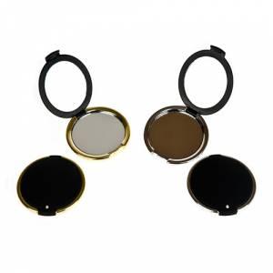 Prácticos mujer - Espejo Diamante - Plateado y dorado surtidos (Últimas Unidades)