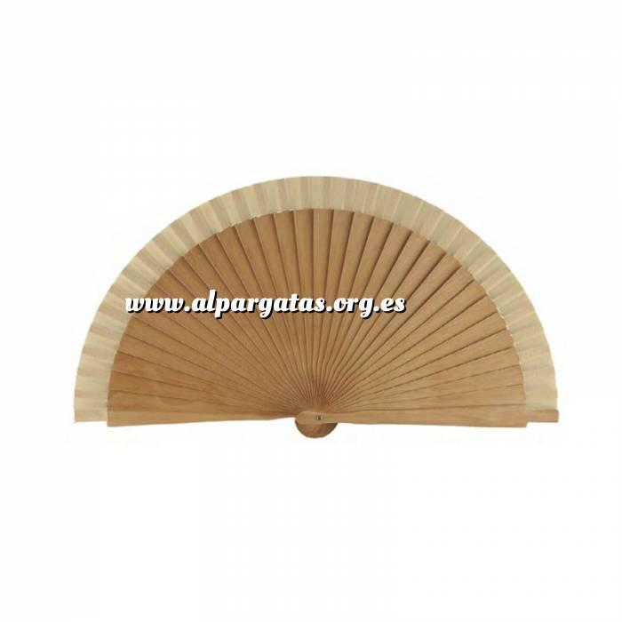 Imagen Abanico Liso 19 cm Abanicos Lisos 19 cm NATURAL (Últimas Unidades)-RE