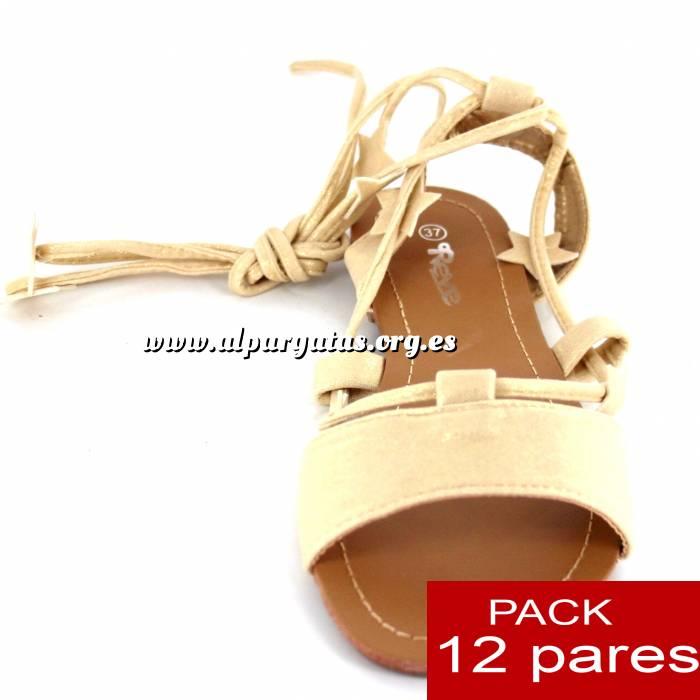 Imagen Alta Calidad Sandalias Embassy DORADAS - Caja de 12 pares (Ref.: Gold 6B-14) (Últimas Unidades)