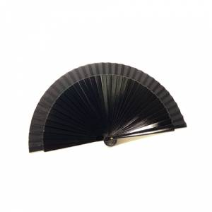 Abanico Liso 19 cm - Abanico Liso 19 cm NEGRO (Últimas Unidades)
