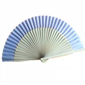 Abanico Liso 23 cm - Abanicos Lisos 23 cm CELESTE País (Últimas Unidades) RE